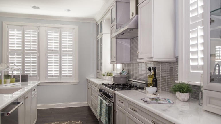 Plantation Shutters In Lansing Michigan Sunburst Shutters