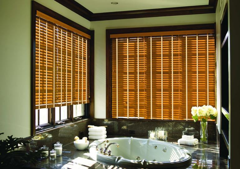 Detroit bathroom blinds