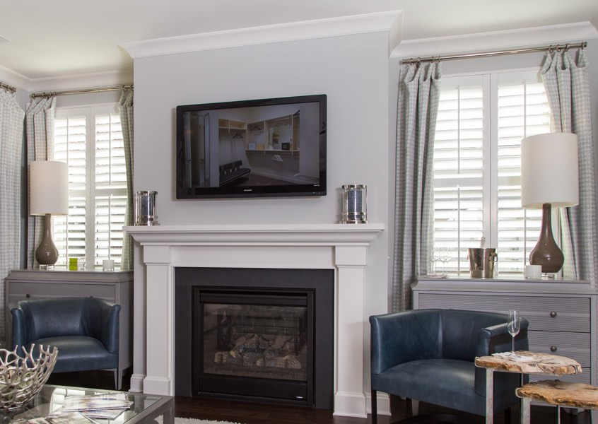 Detroit installed designer shutters