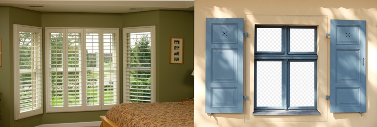 Detroit MI interior and exterior shutters