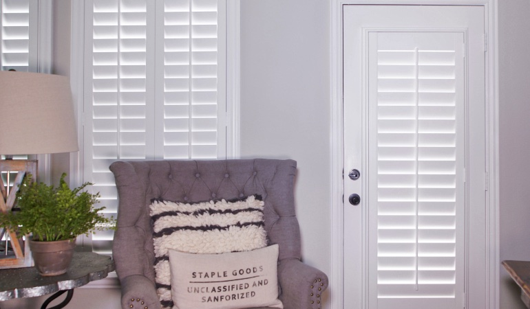 Plantation shutters in Detroit