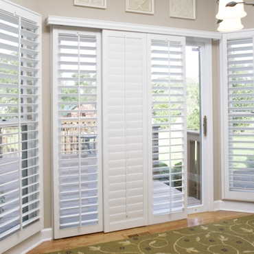 Detroit Sliding Patio Door Shutters