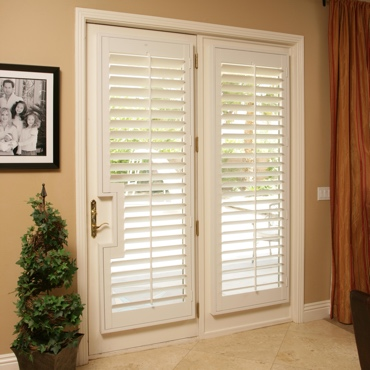 Patio French Door Shutters Detroit