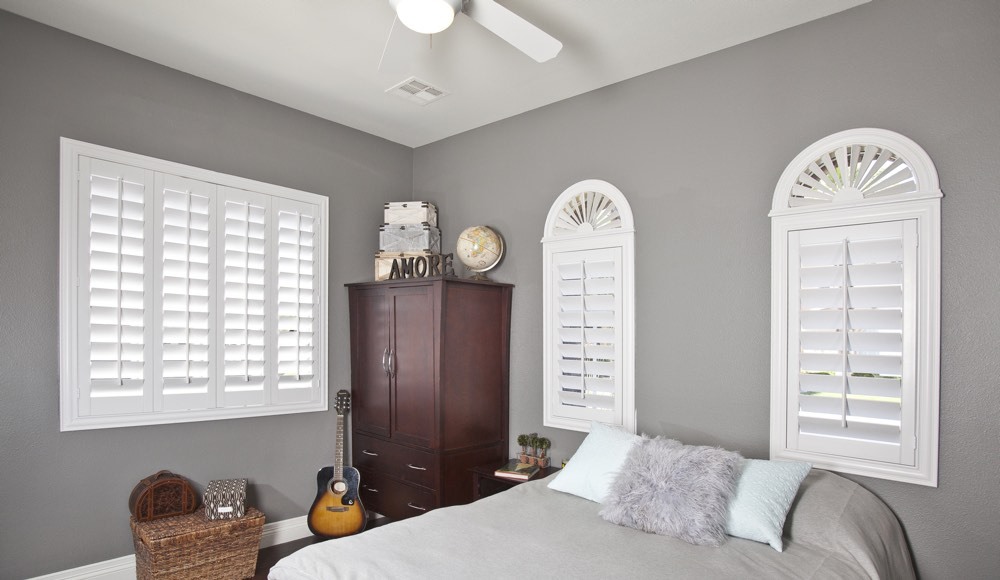 Polywood Shutters In A Detroit Bedroom