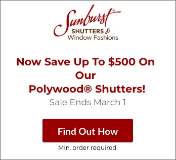 Sale on Detroit Polywood Shutters