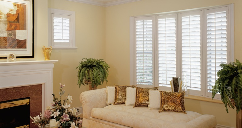 Detroit living room shutters