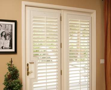 Detroit french door shutters