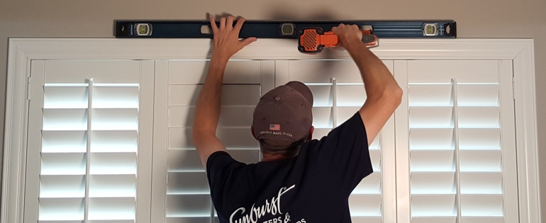 Detroit shutter installer window measure